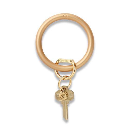 Gold Rush Silicone Big O Key Ring