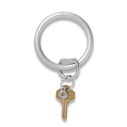 Quicksilver Silicone Big O Key Ring