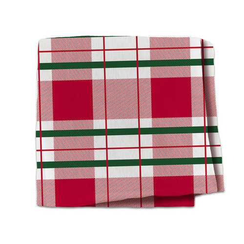 Red And Green Plaid Blanket
