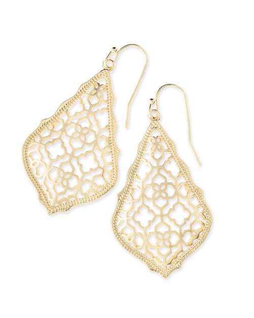 Addie Filigree Earring Gold