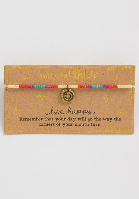 Live Happy Giving Bracelet