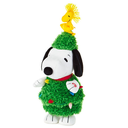 Plush Peanut Snoopy Christmas Tree