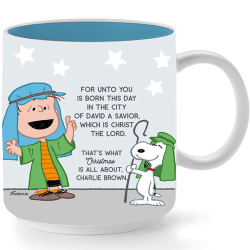 Mug Peanut Linus Speech