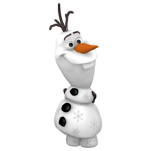Olaf Glows Up Frozen 2 Ornament
