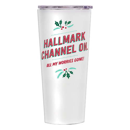 Hallmark Channel On, All My Worries Gone Insulated Tumbler