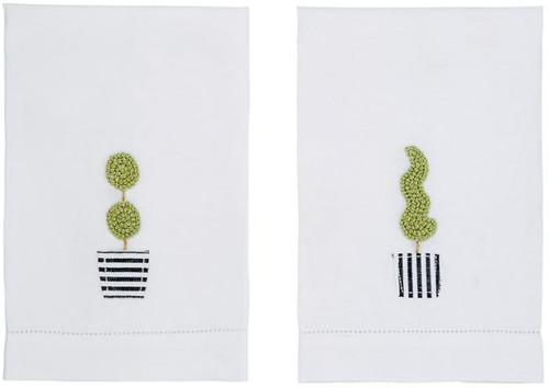 Topiary French Knot Towel