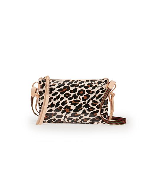 Teeny Crossbody Mona Brown Leopard