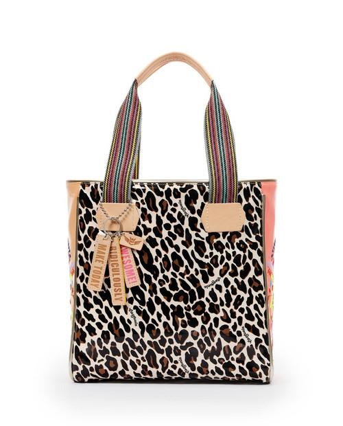 Classic Tote Liz Brown Leopard
