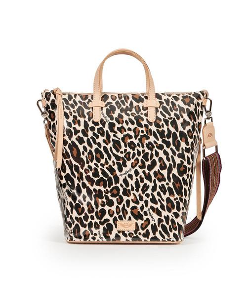 Sling Mona Brown Leopard