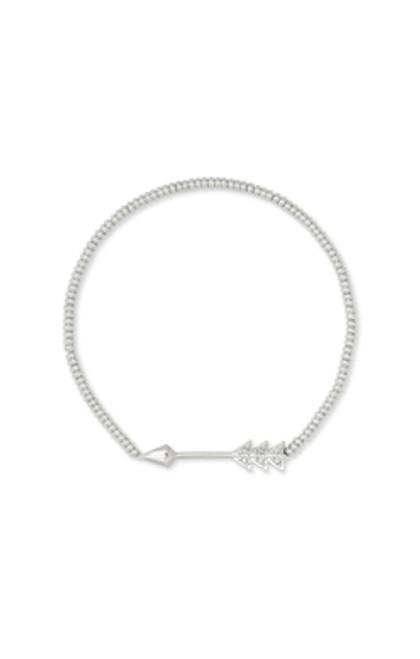 Zoey Silver Arrow Stretch Bracelet