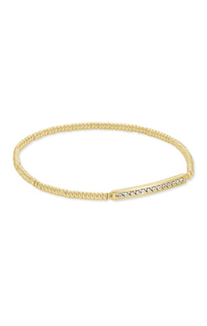 Addison Gold Stretch Bracelet