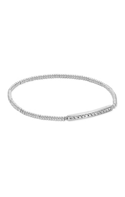 Addison Silver Stretch Bracelet