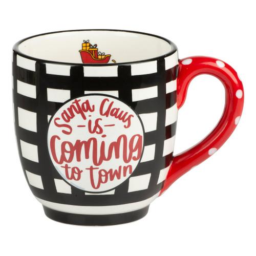 Santa is Coming to Town Mug