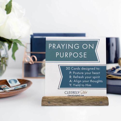 Praying on Purpose Card Set