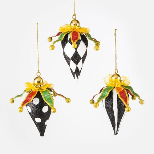 Nutcracker Finial Ornaments