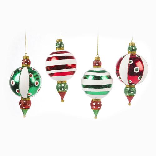 "Kringles Finial Ornament 7"""