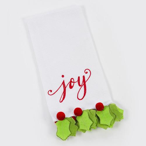 Joy Holly Berry Tea Towel