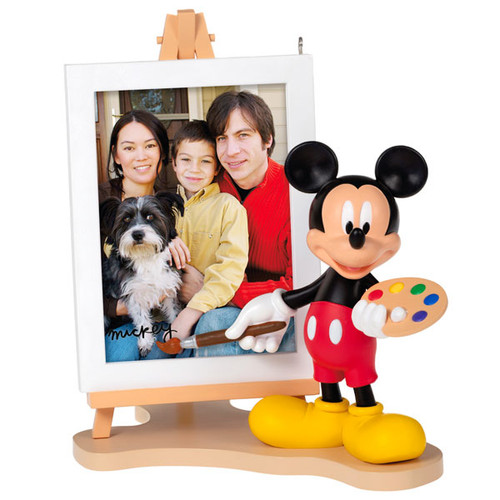 Picture Perfect Disney Mickey Mouse Ornament