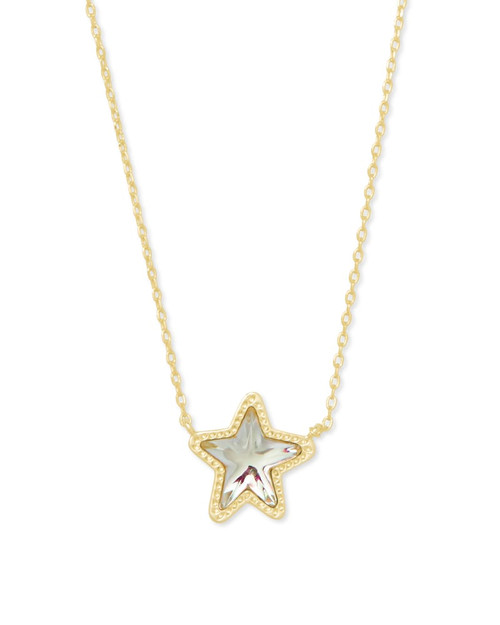 Jae Star Gold Dichroic Necklace