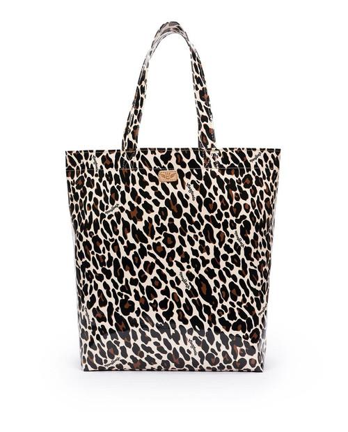 Mona Brown Leopard Grab n Go Tote