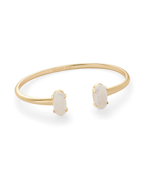 Edie Bracelet Gold Iridescent Drusy