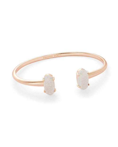 Edie Bracelet Rose Gold Iridescent Drusy