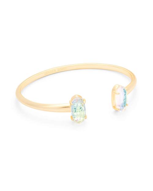 Edie Bracelet Gold Dichroic Glass