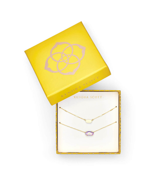 Gift Set Gold Fern & Ever Necklace