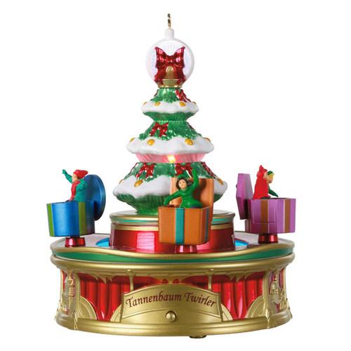Tannenbaum Twirler Ornament 3rd In The Christmas Carnival Series