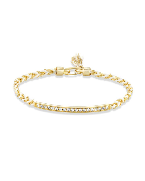Addison Gold Friendship Bracelet