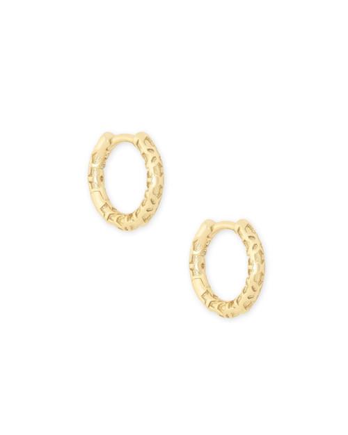 Maggie Gold Huggie Earrings