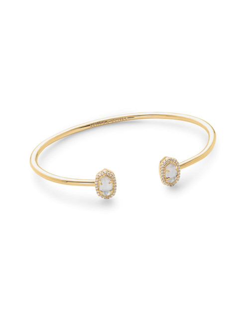Calla Bracelet Gold Ivory Mother of Pearl