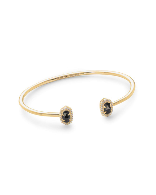 Calla Bracelet Gold Black