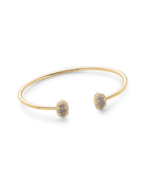 Calla Bracelet Gold Iridescent Drusy