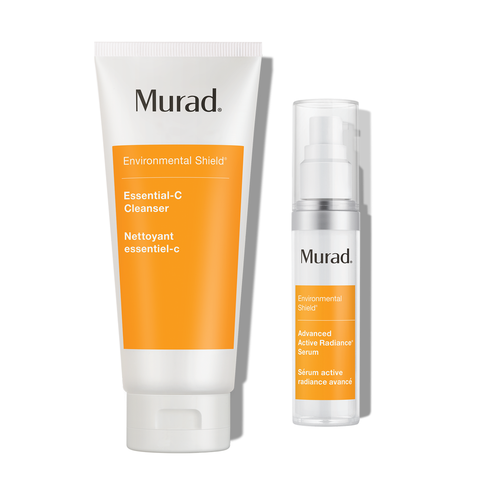 Murad Radiance Duo - 2-Piece Set - Exfoliates & Targets Wrinkles To Re-Volumize Skin