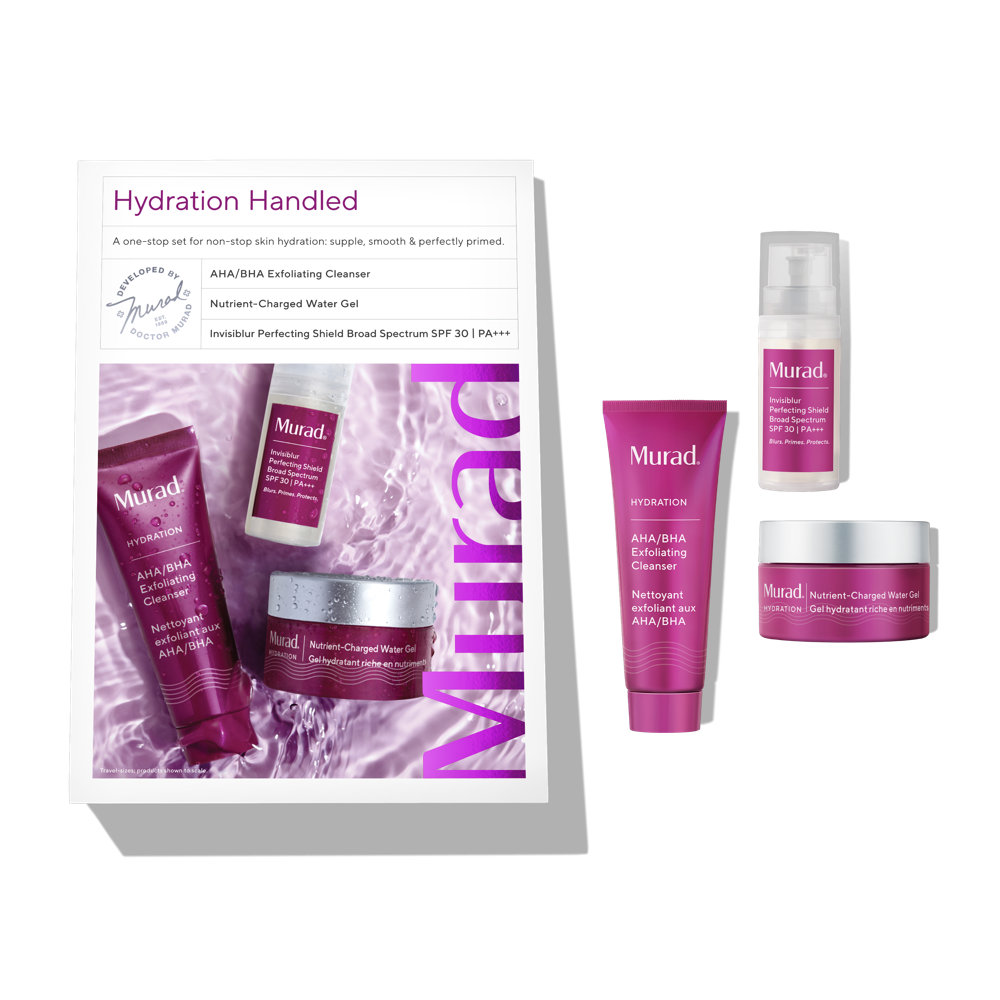 Murad Hydration Handled Kit - 3 Piece Set - Non-Stop Skin Hydration