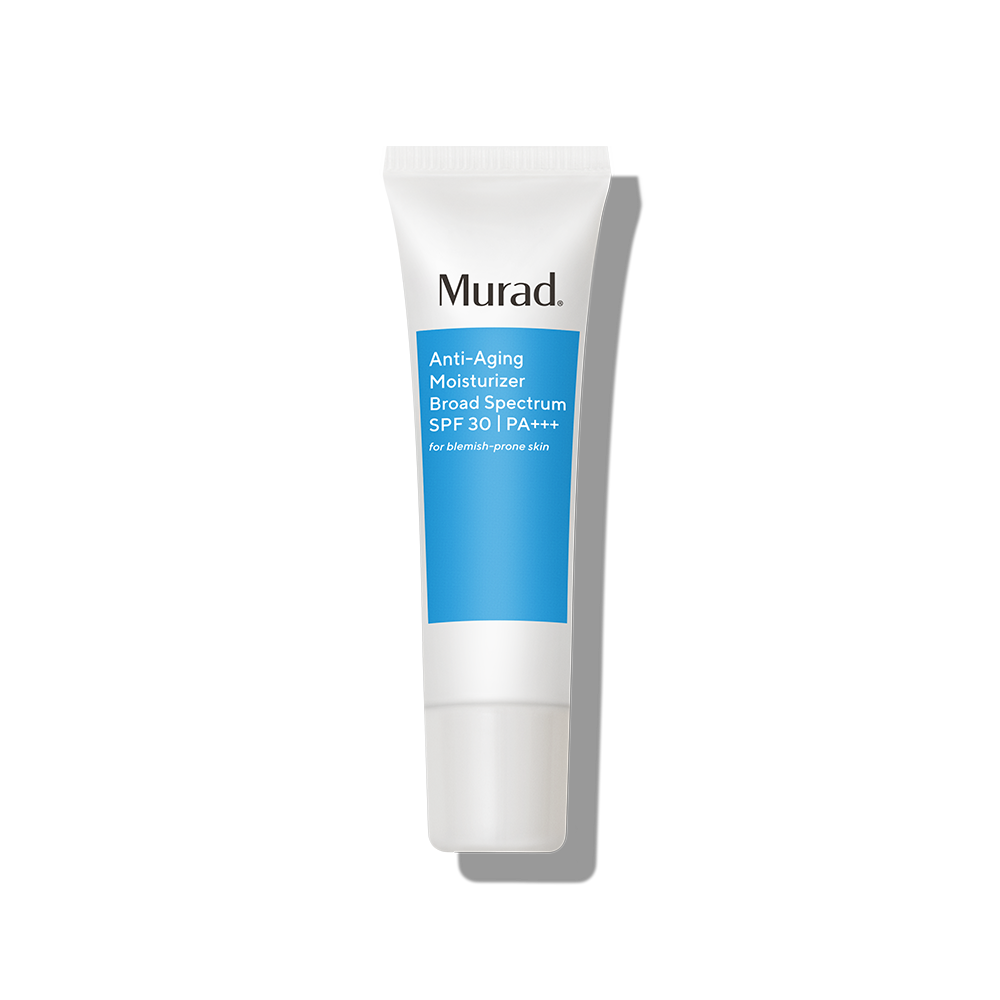 Murad Anti-Aging Moisturizer Broad Spectrum SPF 30 - 1.7 Fl. Oz. - SPF Moisturizer That Minimizes Signs of Aging on Acne-Prone Skin