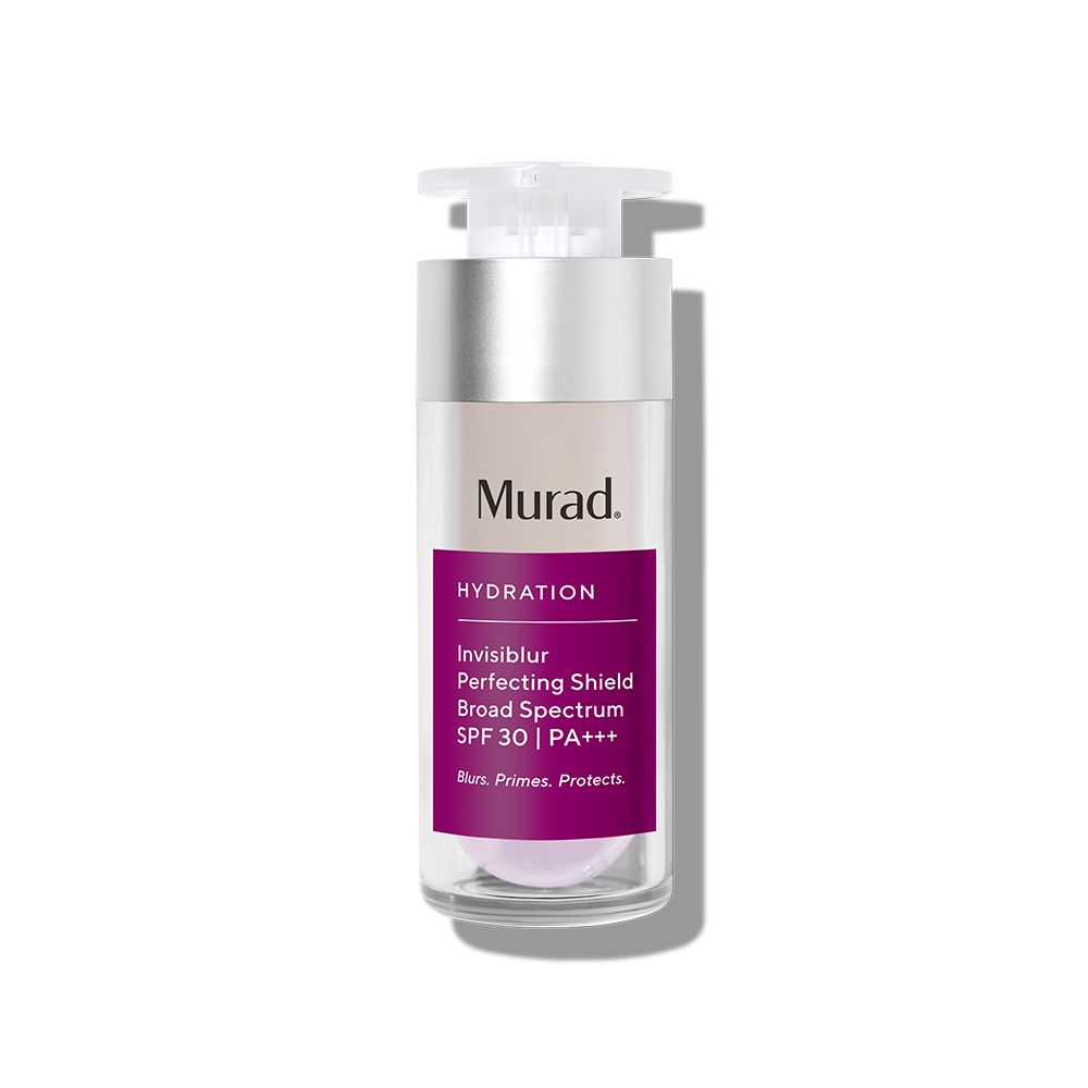 Murad Invisiblur Perfecting Shield Broad Spectrum SPF 30 - 1.0 Fl. Oz. - Primer That Blurs & Protects