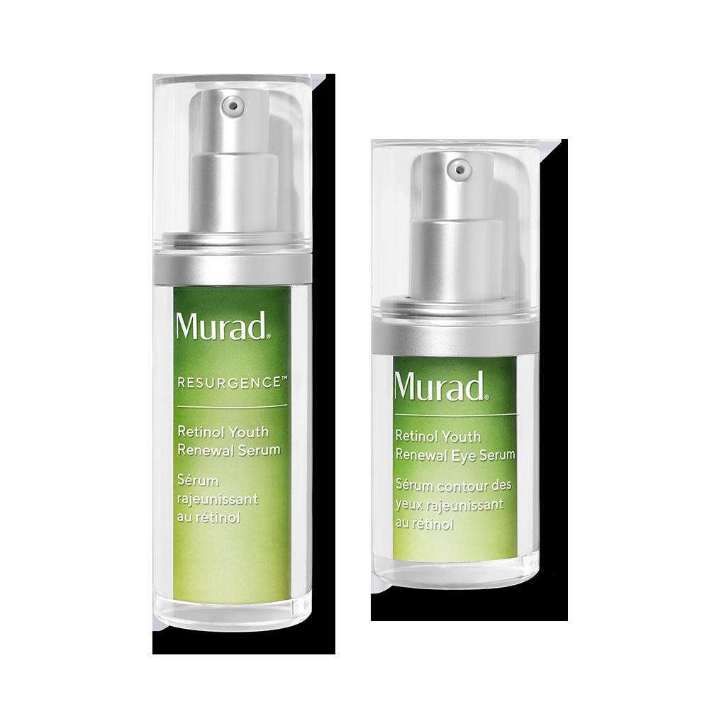 Murad Retinol Duo - 2-Piece Set - Minimize Wrinkles & Boost Radiance