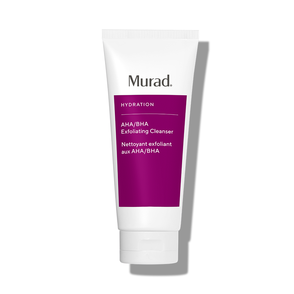Murad AHA/BHA Exfoliating Cleanser - 6.75 Fl. Oz. - Age Reform Cleanser That Polishes Away Impurities