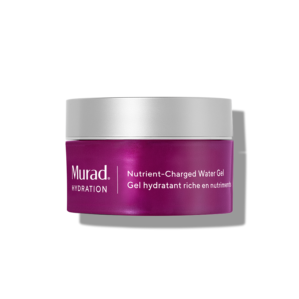 Murad Nutrient-Charged Water Gel - 1.7 Fl. Oz. - Oil-Free Gel Cream Hydrates & Plumps Skin