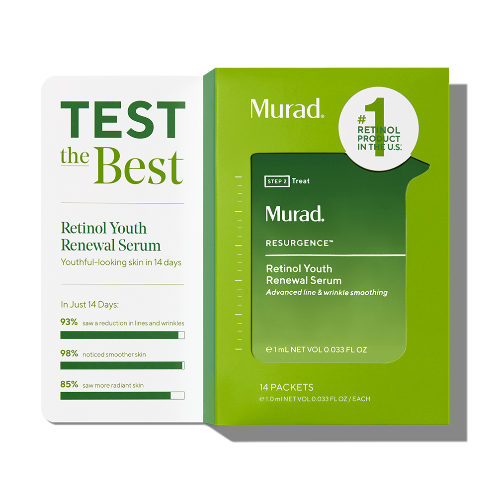 Murad Retinol Youth Renewal 14-Day Challenge - 14-Pack - Test The #1 Retinol Product In The U.S ($41 Value)