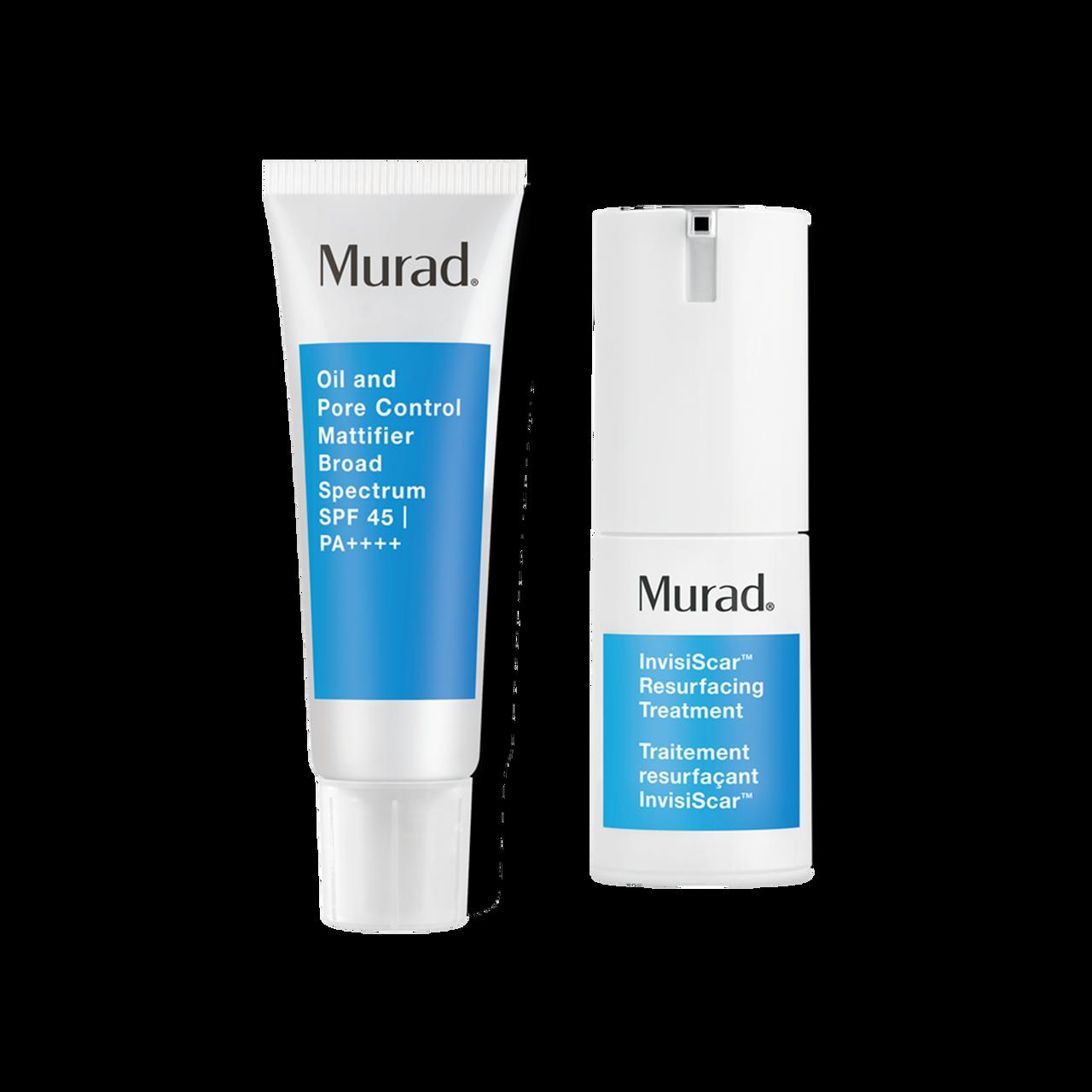 Murad InvisiScar Treatment + SPF 45 Duo 2-Piece Set