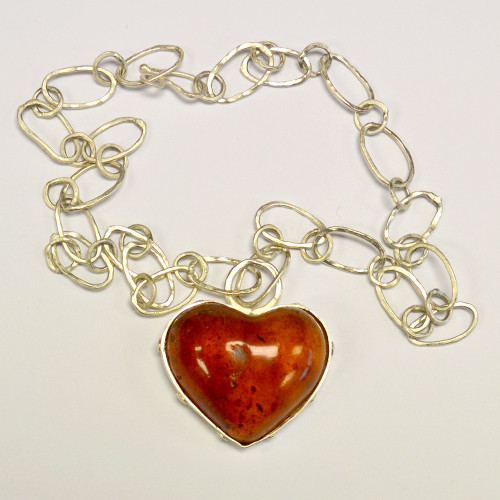 AB Kauri Gum Heart - Large