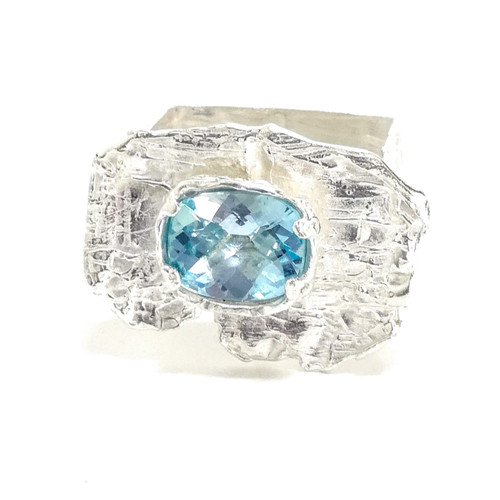 Topaz Sterling ring