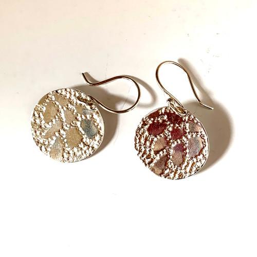 Earrings Sterling silver.