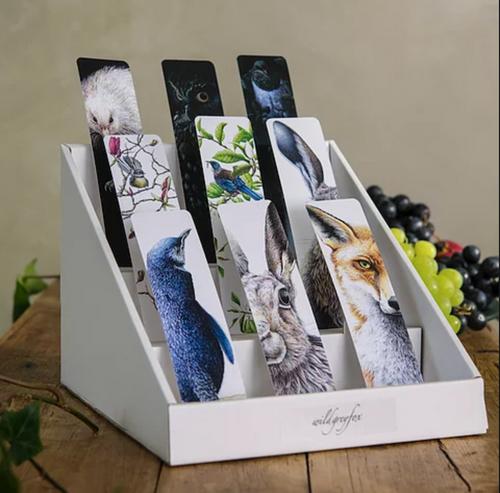 Wild grey fox bookmarks