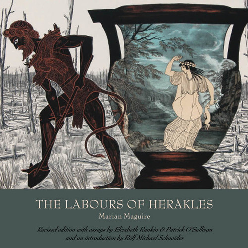 This catalogue is a revised and expanded edition, published to accompany Marian Maguire's exhibition of The Labours of Herakles at  Antikensammlungen in Munich, Germany in 2015. It includes plates of all images in the series, plus four lithographs from The Odyssey of Captain Cook series, which set the scene for Herakles' migration to the southern hemisphere.