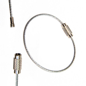 The XY Cable Key Chain Tether easily attaches XY Finders to anything you need to keep track of.