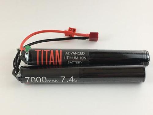 TITAN 7.4v 7000mah Twin Deans